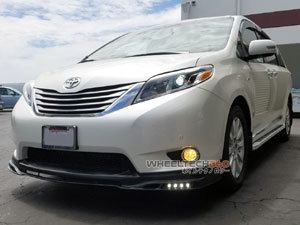Toyota Sienna Side Step Running Boards Installation