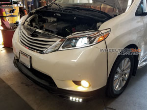 Toyota Sienna HID Headlights Upgrade Installation
