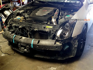 Infiniti G35 Projector Headlights with HID Installation