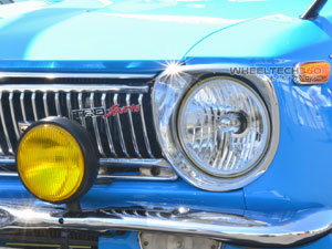 Datsun 510 Sealed Beam Headlight Conversion Installation