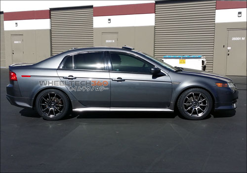 Acura TL with Rota G-Force Wheels 18 x 8.5