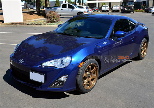 Scion FRS with Rota Grid Wheels 17 x 8