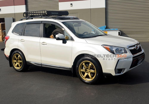 Subaru Forester with Rota Grid Wheels 18 x 8.5