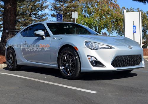 Scion FRS with Rota MXR Wheels 18 x 8.5