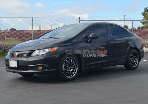 Honda Civic with Rota SVN Wheels 17 x 7.5