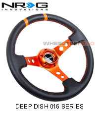 NRG Steering Wheel (Deep Dish 016 Series)