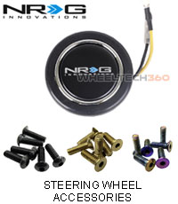 NRG Steering Wheel Accessories