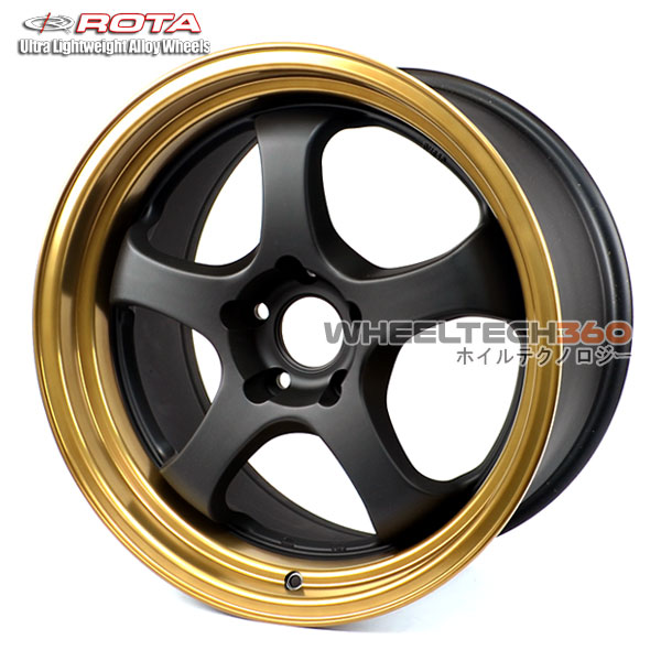 ROTA Wheel D2 EX (18x9.5, 5x100+38mm, 73mm Hub)