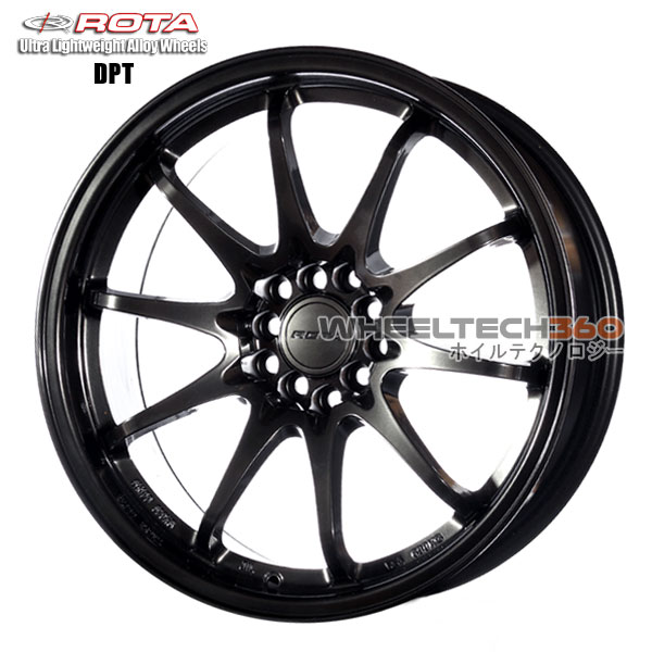 ROTA Wheel DPT (18x9.5, 5x100/114.3+35mm, 73mm Hub)