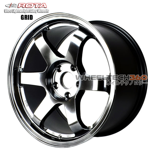 ROTA Wheel Grid (17x9, 5x112+42mm, 57.1mm Hub)