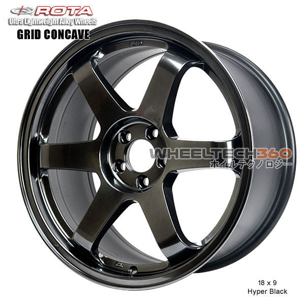 ROTA Wheel Grid Concave (18x9, 5x112+40mm, 73mm Hub)