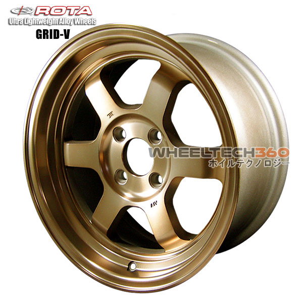 ROTA Wheel Grid V (15x7, 4x114.3+20mm,73mm Hub)