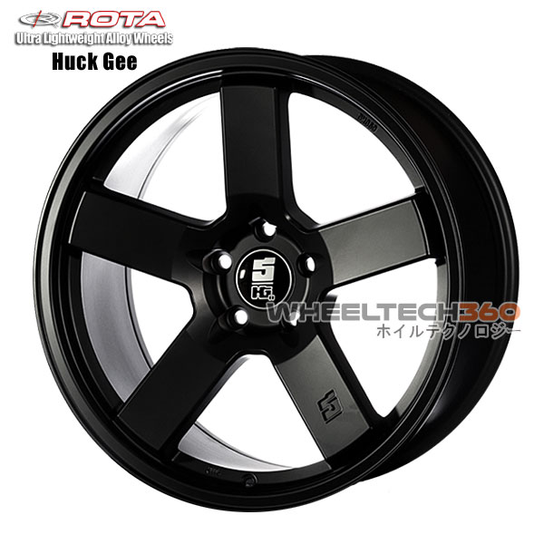 ROTA Wheel Huck Gee (18x9.5, 5x108+38mm, 73mm Hub)