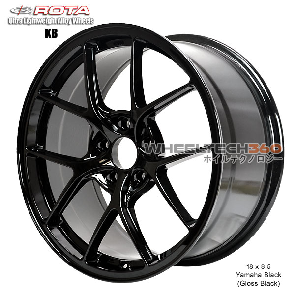 ROTA Wheel KB-F (18x8.5, 5x100+44mm, 73mm Hub)