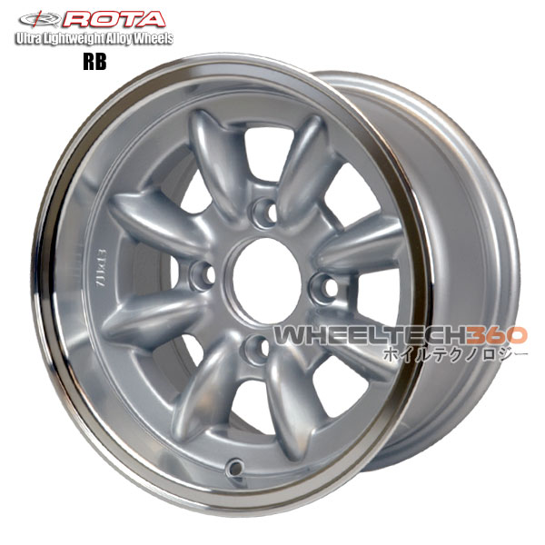 ROTA Wheel RB (13x7, 4x114.3+4mm, 73mm Hub)