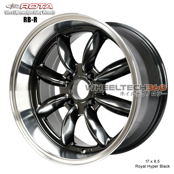 ROTA Wheel RB-R (17x8.5, 4x114.3+4mm, 73mm Hub)