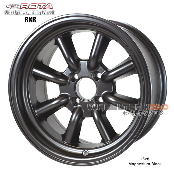 ROTA Wheel RKR (15x8, 4x100+0mm, 67.1mm Hub)