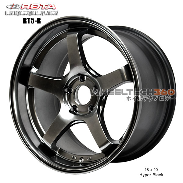ROTA Wheel RT5-R (18x10, 5x114.3+30mm, 73mm Hub)