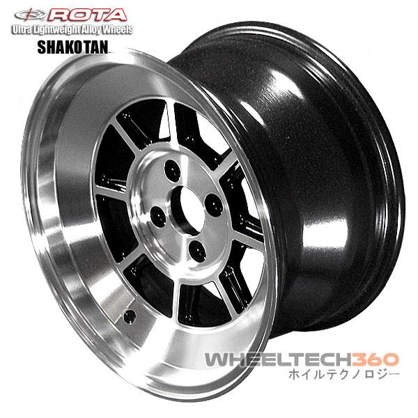 ROTA Wheel Shakotan (15x8, 4X100+10mm, 67 1mm Hub)