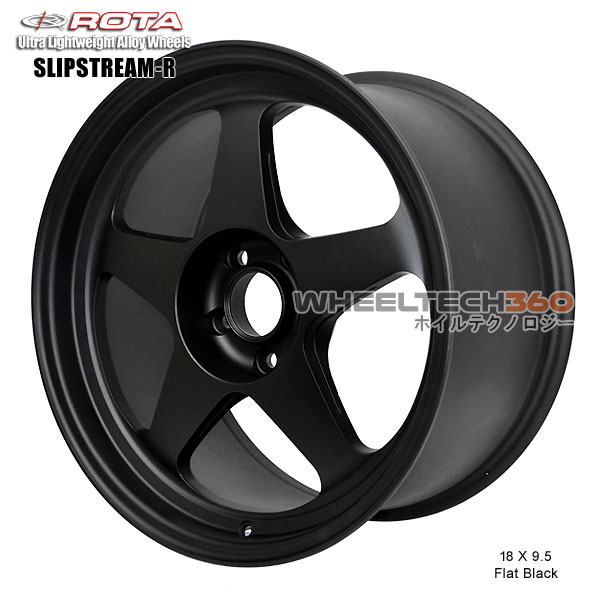 ROTA Wheel Slipstream-R (18x9.5, 5x114.3+38mm, 73mm Hub)