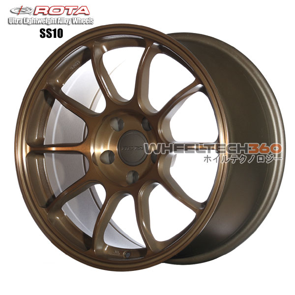 ROTA Wheel SS10-R (17x9, 5x114.3+25mm, 73mm Hub)