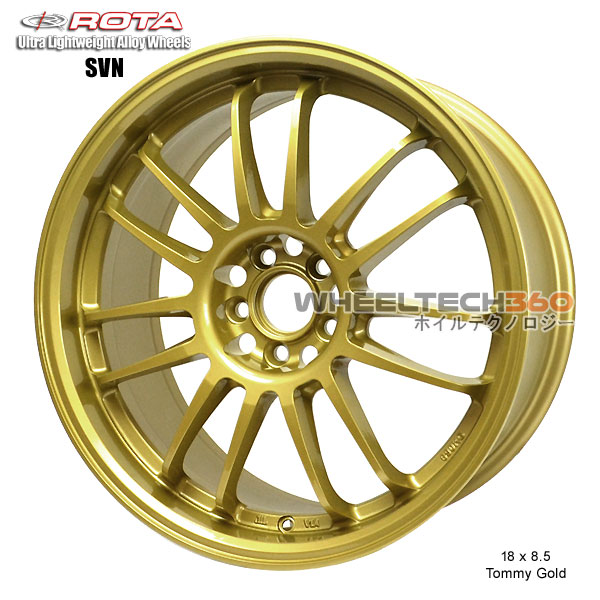 ROTA Wheel SVN (18x8.5, 5x100+48mm, 56.1mm Hub)