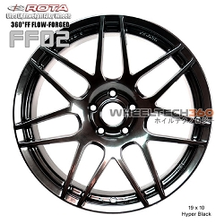 ROTA Wheel 360°FF Flow-Forged FF02 (19x10, 5 x114.3+38mm, 73mm Hub)