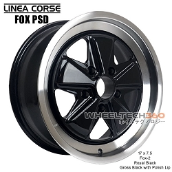 Linea Corse Fox PSD (Fox 2, 17x7.5 Royal Black)
