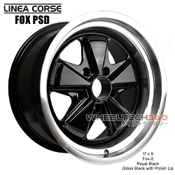 Linea Corse Fox PSD (Fox 2, 17x9 Royal Black)