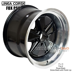 Linea Corse Fox PSD (Fox 2, 17x11 Royal Black)