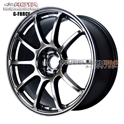 Rota Wheel G Force Hyper Black 18 x 8.5