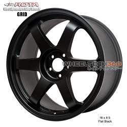 Rota Wheel Grid 18 x 8.5 Flat Black