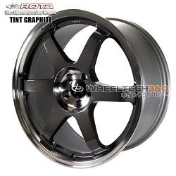 Roat Wheel Grid Tint Graphite 19x8.5