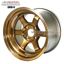 Rota Wheel Gird V Full Royal Sport Bronze 15x9