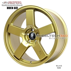 Rota Wheel Huck Gee 18 x 8.5 Gold