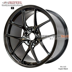 Rota Wheel KB 19 x 9.5 Hyper Black