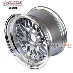 Rota Wheel Kensei Royal Silver 15x8