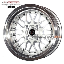 Rota Wheel Kensei Royal Silver 15x9
