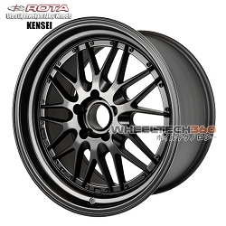 Rota Wheel Kensei Flat Black 18x9.5