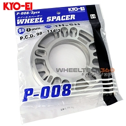 KYO-EI KICS Universal Wheel Spacers (8mm)