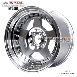 ROTA Wheel Kyusha (15x8, 4x100+0mm, 67.1mm Hub)