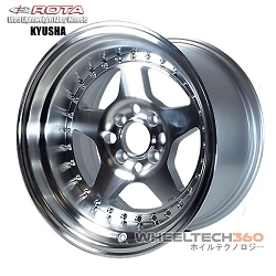 ROTA Wheel Kyusha (15x9, 4x100+0mm, 67.1mm Hub)
