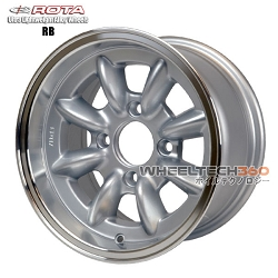 Rota Wheel RB Royal Silver 13x7