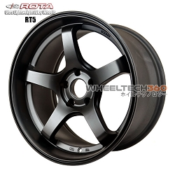 Rota Wheel RT5 Flat Black 18x9.5
