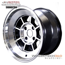 Rota Wheel Shakotan Full Royal Yahama Black 15x9