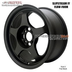 ROTA Wheel Slipstream Flow-Form (15x6.5, 4x100+35mm, 67.1mm Hub)