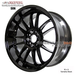 Rota Wheel SVN 18 x 9 Yamaha Black