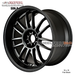 Rota Wheel SVN-R 18 x 10 Flat Black
