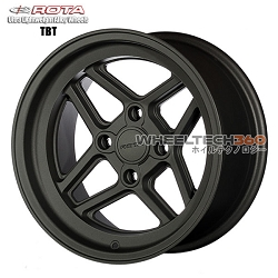 Rota Wheel TBT Magnesium Black 15x8
