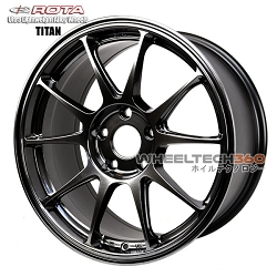 ROTA Wheel Titan (17x8, 5x114+45mm, 73mm Hub)